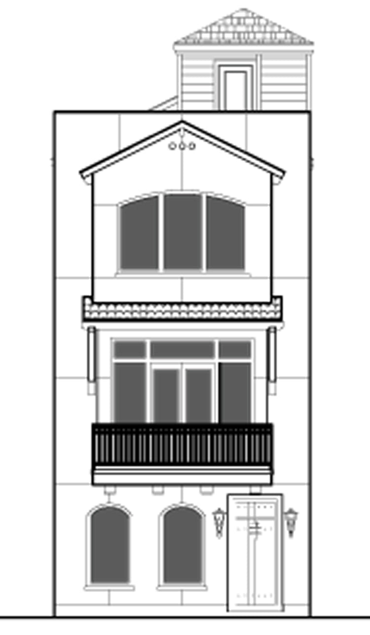 Townhouse Plan E2036 C4.1