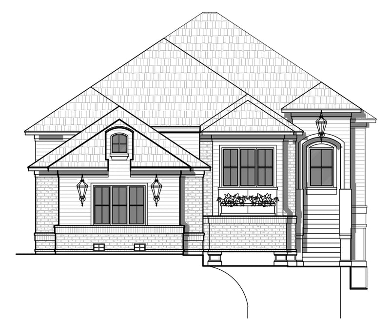 One Story Home Plan A0813-2378