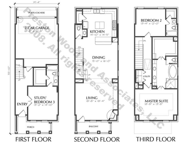 Luxury Townhome Plans Online Brownstone Homes Town House