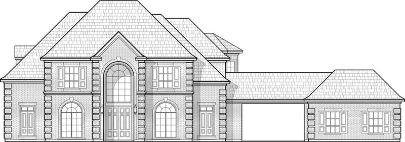 Two Story House Plan C9300