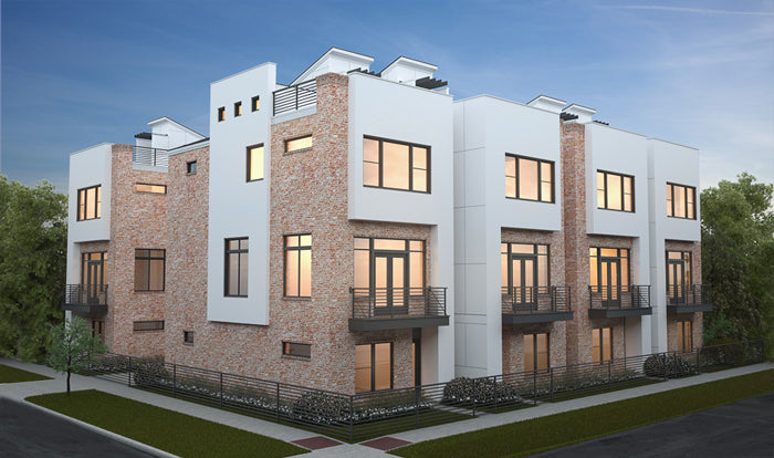 Townhouse Plan E2078 A2.1