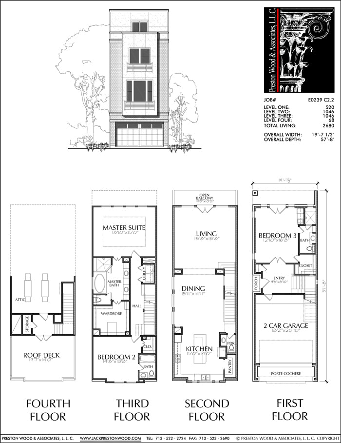 Townhouse Plan E0239 C2.2