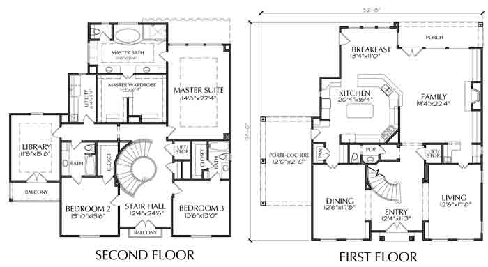 Two Story House Plan D4102