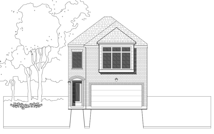 Townhouse Plan E2014 A1.1L
