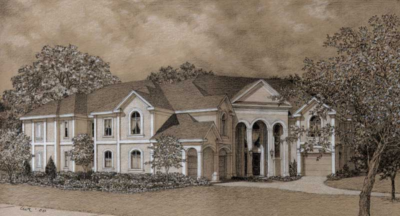 Two Story Home Plan D0122