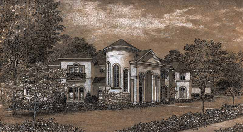 Two Story Home Plan D0160