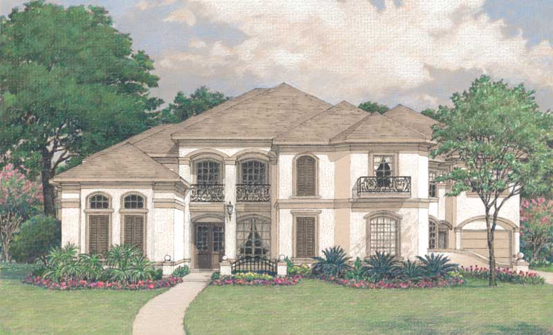 Two Story Home Plan D0113
