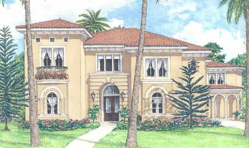 Two Story Home Plan D4008