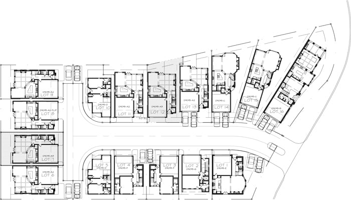 Townhouse Plan D9095 A3
