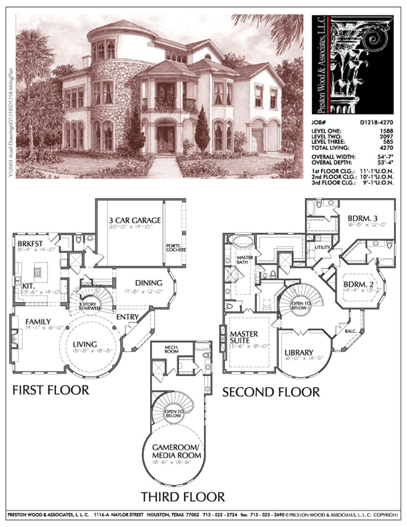 Urban House Plan D1218
