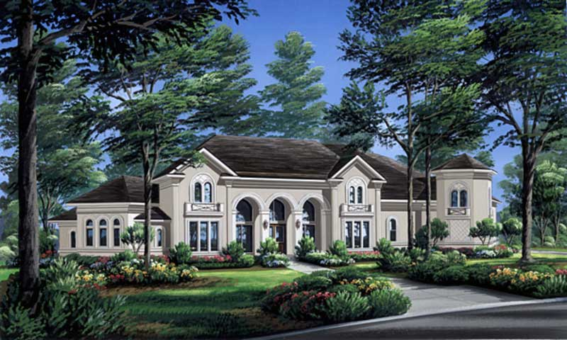 Two Story Home Plan aD2276