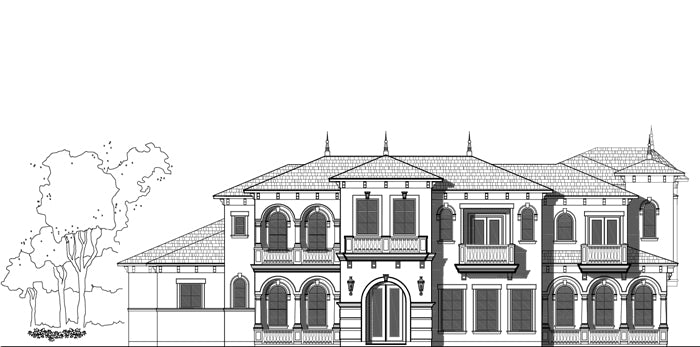 Two Story House Plan E0234