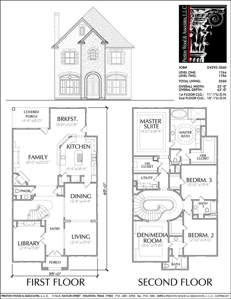 Urban House Plan D4295