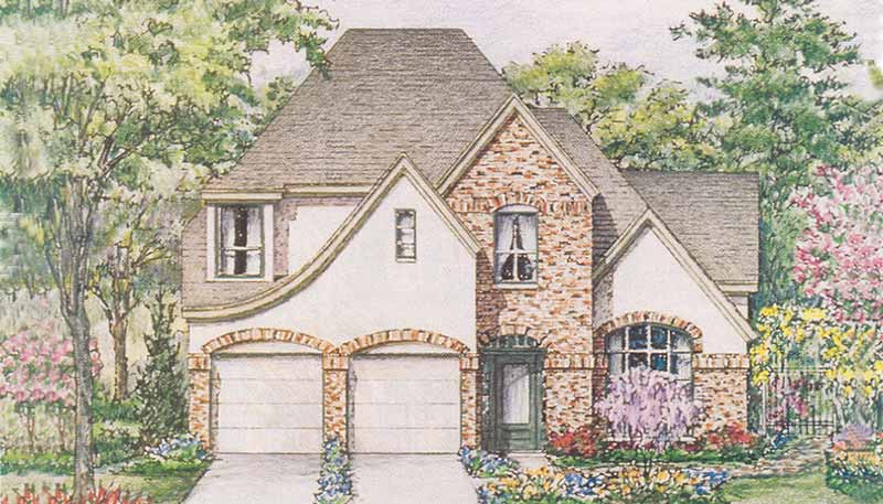 Patio Home Plan C5230 B