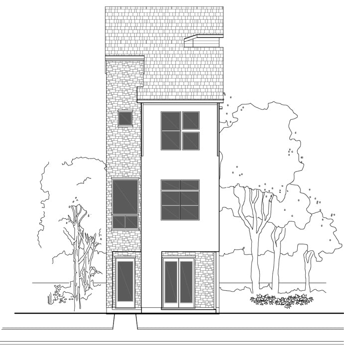 Townhouse Plan E1102 C2.2