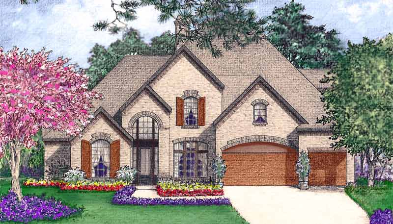 Two Story Home Plan bC6164