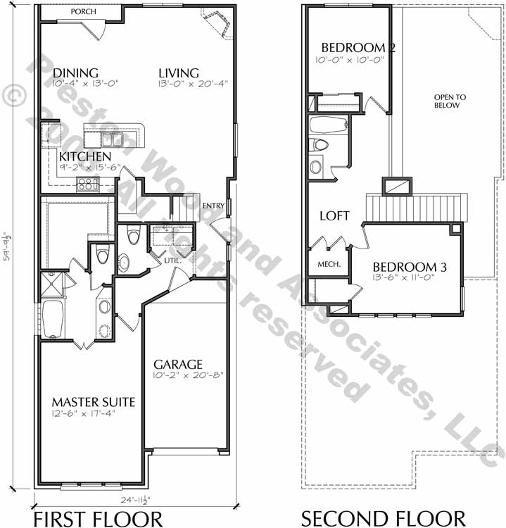 Small House Plan D1114