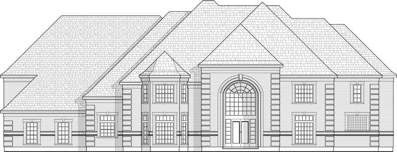 Two Story House Plan C4001