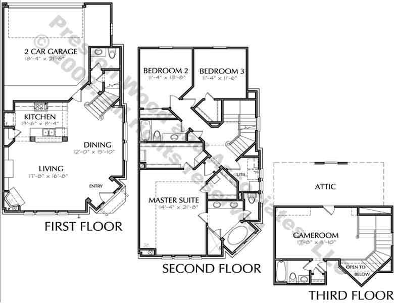 Townhouse Plan D3034 u1R