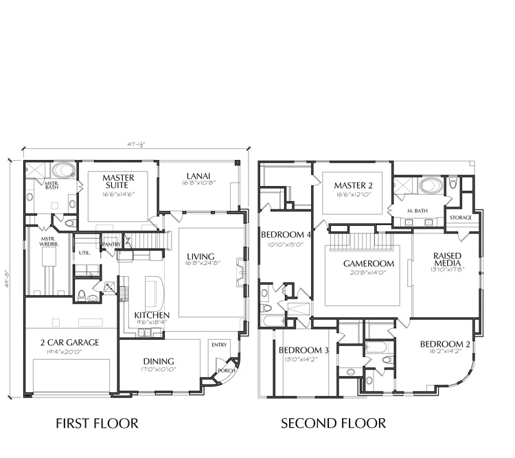 Urban House Plan E2235 B1.1