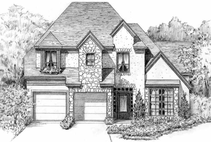 Patio House Plan C5230 C