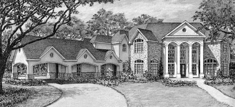 Two Story Home Plan C6330