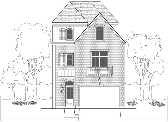 Townhouse Plan E0108 A3.5
