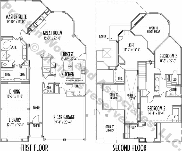 Country Style House Plan C5182