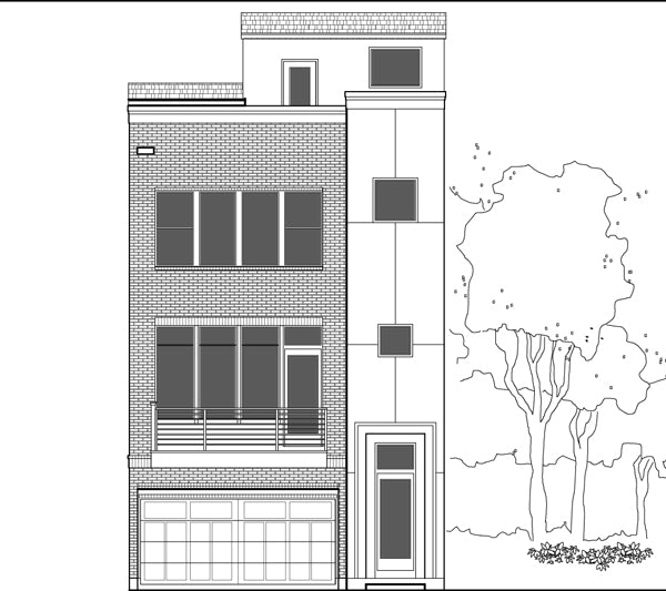 Townhouse Plan E2304 C1.1