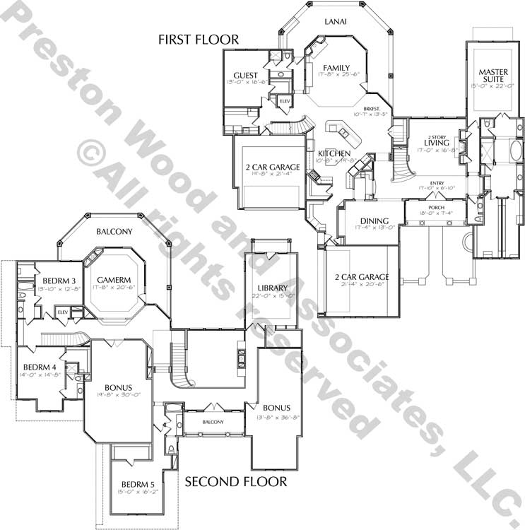 Two Story Home Plan D4307
