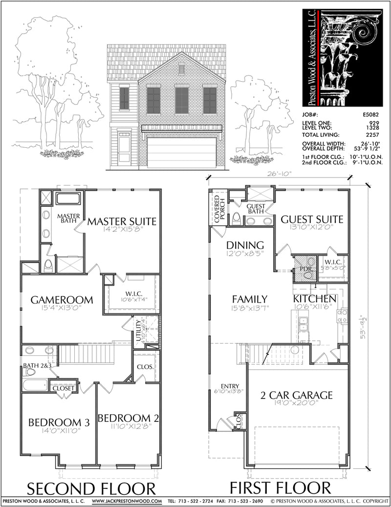 Townhouse Plan E5082