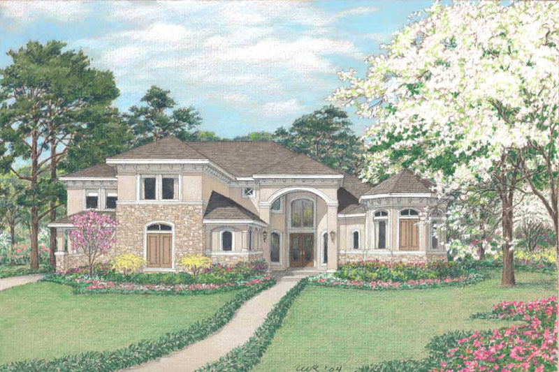 Two Story Home Plan D3225
