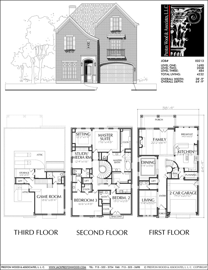 Urban House Plan E0213