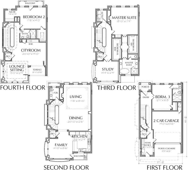 Townhouse Plan E2023 Lot 9