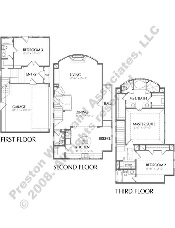 Townhouse Plan D1177