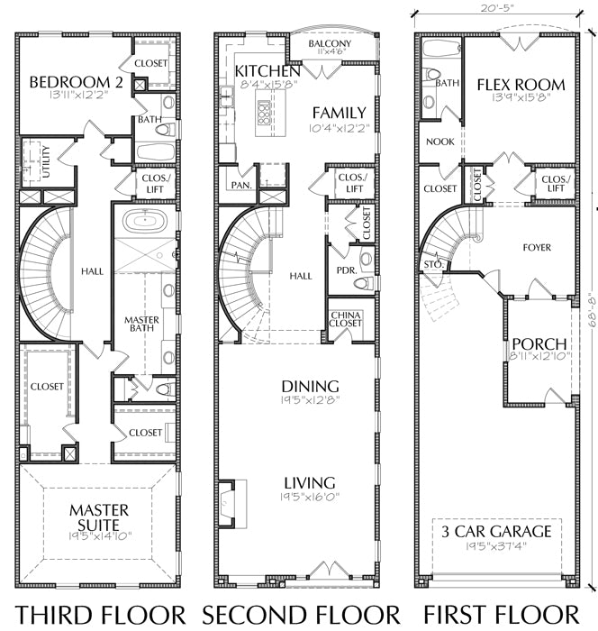 Three Story Townhouse Plan E1149 A2 on japanese garden plans, narrow condo plans, narrow garage plans, home floor plans, narrow bungalow plans, narrow studio apartment plans, narrow ranch plans, narrow duplex plans, victorian row house floor plans, narrow victorian plans, narrow villa plans, brick georgian mansion floor plans, narrow cabin plans, 3 bedroom house floor plans, 3-story apartment building plans, narrow lot plans, narrow farmhouse plans,