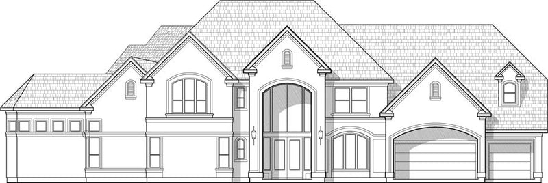 Two Story House Plan C8280