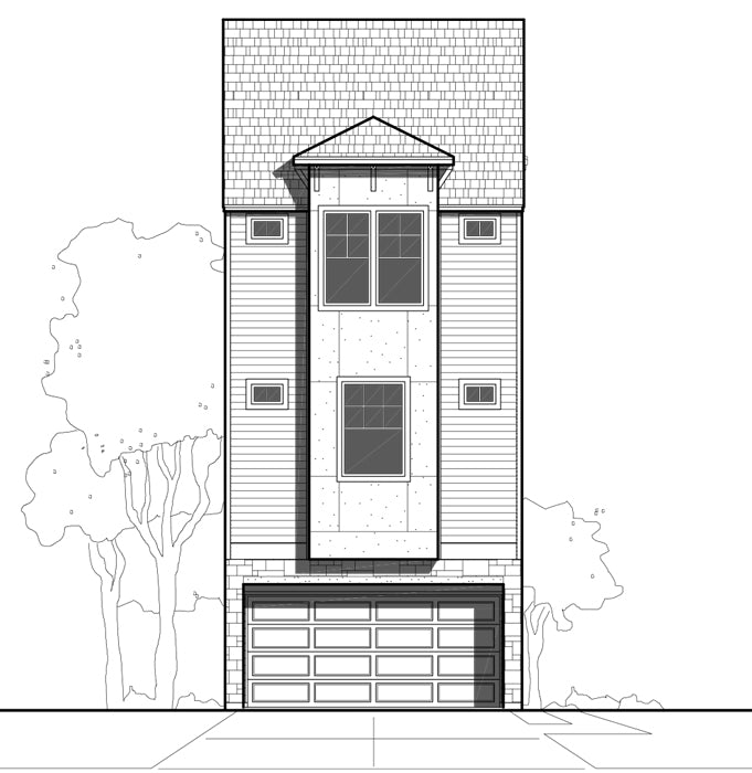 Townhouse Plan E0169 A