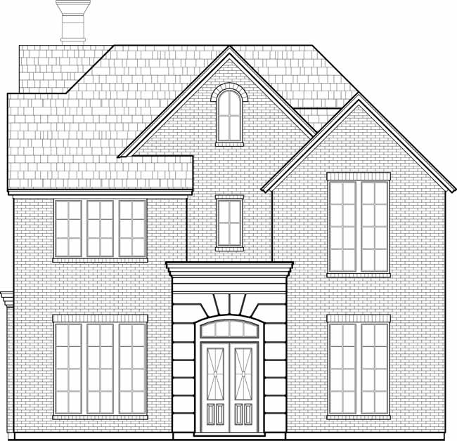Urban House Plan D4229