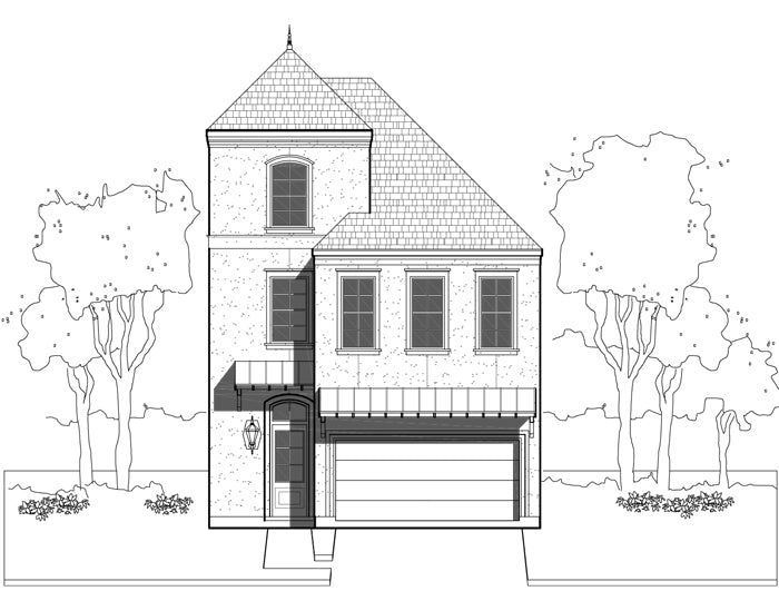Townhouse Plan E1036 A1.1