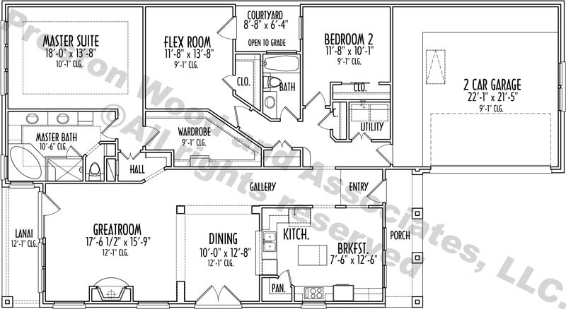 Patio House Plan D3060 u4