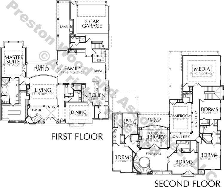 Two Story Home Plan D4075
