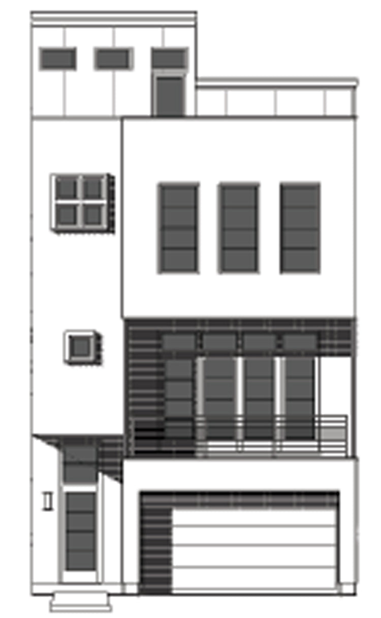 Townhouse Plan E2246 B1.1