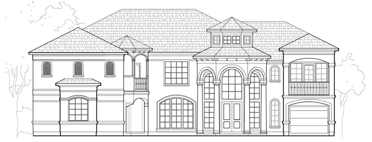 Two Story Home Plan E2153