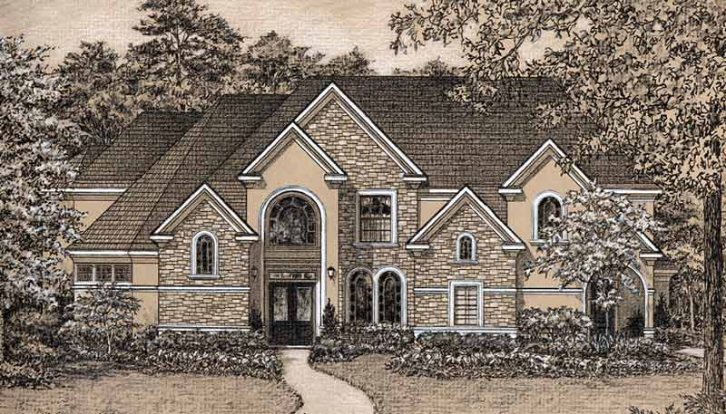 Two Story Home Plan D0121
