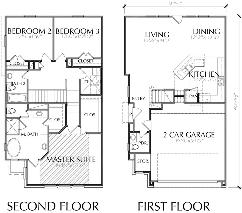 Townhouse Plan E6028 C1.1L