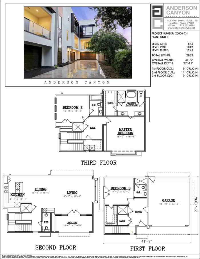 Townhouse Plan X0006-U2
