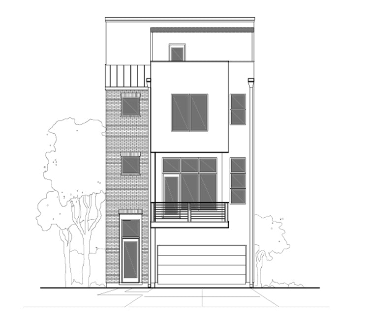 Townhouse Plan E1188 A1.2