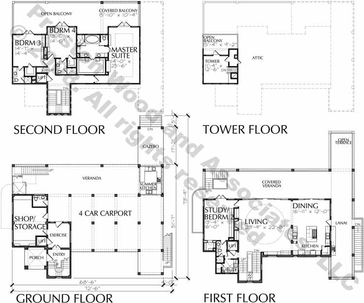 Beach Home Plan D4026