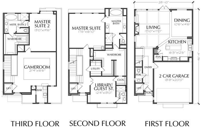 Townhouse Plan E0108 A4.4